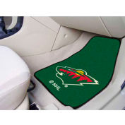 "NHL - Minnesota Wild - 2 Piece Carpeted Car Mat Set 17""W x 27""L - 10397"