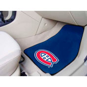 "NHL - Montreal Canadiens - 2 Piece Carpeted Car Mat Set 17""W x 27""L - 10406"