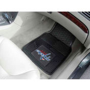 "NHL - Washington Capitals - Heavy Duty Vinyl 2 Piece Car Mat Set 17""W x 27""L - 10563"