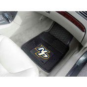 "NHL - Nashville Predators - Heavy Duty Vinyl 2 Piece Car Mat Set 17""W x 27""L - 10585"