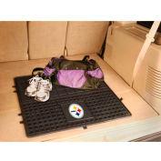 "NFL - Pittsburgh Steelers - Heavy Duty Vinyl Cargo Mat 31"" x 31"" - 10836"