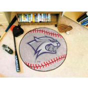 "New Hampshire Baseball Rug 29"" Dia."