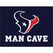 """Fan Mats NFL - Houston Texans Man Cave All-Star Mat 34"""" X 45"""" - 14308"""