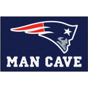 """Fan Mats NFL - New England Patriots Man Cave Ulti-Mat Rug 60"""" X 96"""" - 14334"""
