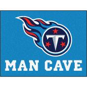 "Fan Mats NFL - Tennessee Titans Man Cave All-Star Mat 34"" X 45"" - 14380"