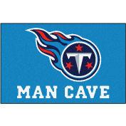 "Fan Mats NFL - Tennessee Titans Man Cave Starter Rug 19"" X 30"" - 14381"