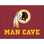 "Fan Mats NFL - Washington Redskins Man Cave All-Star Mat 34"" X 45"" - 14385"