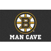 "Fan Mats NHL - Boston Bruins Man Cave Ulti-Mat Rug 60"" X 96"" - 14395"