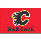 "Fan Mats NHL - Calgary Flames Man Cave Ulti-Mat Rug 60"" X 96"" - 14403"