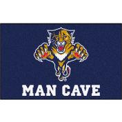 """Fan Mats NHL - Florida Panthers Man Cave Ulti-Mat Rug 60"""" X 96"""" - 14435"""