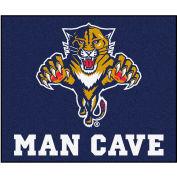 "Fan Mats NHL - Florida Panthers Man Cave Tailgater Rug 60"" X 72"" - 14436"