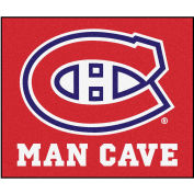 """Fan Mats NHL - Montreal Canadians Man Cave Tailgater Rug 60"""" X 72"""" - 14448"""