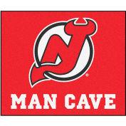 "Fan Mats NHL - New Jersey Devils Man Cave Tailgater Rug 60"" X 72"" - 14456"