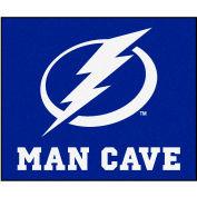 "Fan Mats NHL - Tampa Bay Lightning Man Cave Tailgater Rug 60"" X 72"" - 14492"