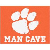"""Fan Mats Clemson University Man Cave All-Star Mat 34"""" X 45"""" - 14537"""