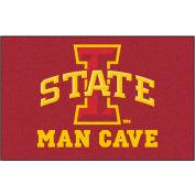 "Fan Mats Iowa State University Man Cave Starter Rug 19"" X 30"" - 14556"