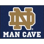 """Fan Mats Notre Dame Man Cave All-Star Mat 34"""" X 45"""" - 14581"""