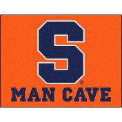 "Fan Mats Syracuse University Man Cave All-Star Mat 34"" X 45"" - 14605"