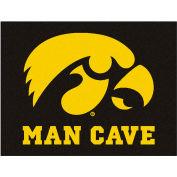 "Fan Mats University Of Iowa Man Cave All-Star Mat 34"" X 45"" - 14645"