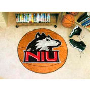 "Northern Illinois Basketball Rug 29"" Dia."