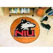 """Northern Illinois Basketball Rug 29"""" Dia."""