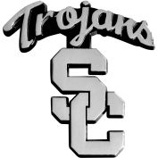 "University of Southern California - Heavy Duty Chrome 3-D Emblem 3"" x 3-1/5"" - 14803"