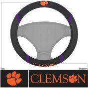 """Fan Mats Clemson Steering Wheel Cover 15"""" X 15"""" - 14849"""