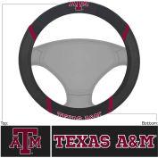 """Fan Mats Texas A&M Steering Wheel Cover 15"""" X 15"""" - 14894"""