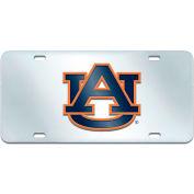 """Fan Mats Auburn License Plate Inlaid 6"""" X 12"""" - 14947"""