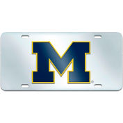 "Fan Mats Michigan License Plate Inlaid 6"" X 12"" - 14995"