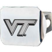 """Fan Mats Virginia Tech Hitch Cover 4-1/2"""" X 3-3/8"""" - 15106"""