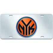 """Fan Mats NBA - New York Knicks License Plate Inlaid 6"""" X 12"""" - 15125"""
