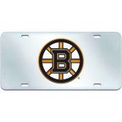 "Fan Mats NHL - Boston Bruins License Plate Inlaid 6"" X 12"" - 15142"