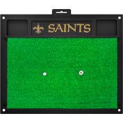 """Fan Mats New Orleans Saints Golf Hitting Mat 20"""" X 17"""" - 15468"""