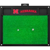 "Fan Mats University Of Nebraska Golf Hitting Mat 20"" X 17"" - 15511"