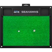 "Fan Mats Seattle Seahawks Golf Hitting Mat 20"" X 17"" - 15663"