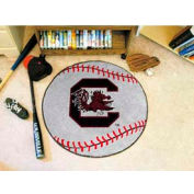 "South Carolina Baseball Rug 29"" Dia."