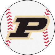 "Fan Mats Purdue 'P' Baseball Mat 27"" Dia. - 16829"