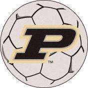Fan Mats Purdue 'P' Soccer Ball - 16830