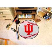 "Indiana Baseball Rug 29"" Dia."