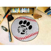 "Cal State - Chico Baseball Rug 29"" Dia."