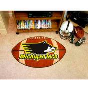 "Michigan Tech Football Rug 22"" x 35"""