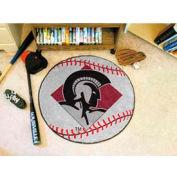 """Arkansas-Little Rock Baseball Rug 29"""" Dia."""