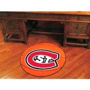 "St. Cloud State Basketball Rug 29"" Dia."