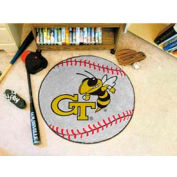 "Georgia Tech Baseball Rug 29"" Dia."