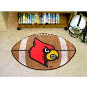 "Louisville Football Rug 22"" x 35"""