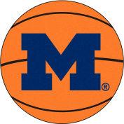"Michigan Basketball Rug 29"" Dia."