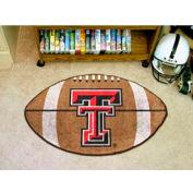 "Texas Tech Football Rug 22"" x 35"""