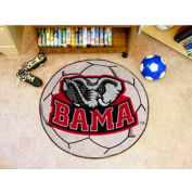 "Alabama Bama Soccer Ball Rug 29"" Dia."