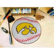 "Iowa Baseball Rug 29"" Dia."